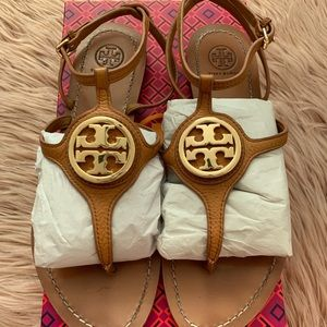 Tory Burch Tan Leticia Sandal Sz 9